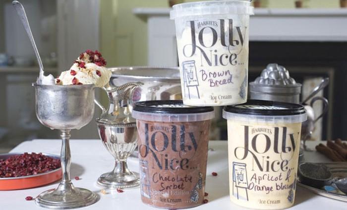300 year old, gerogian ice cream