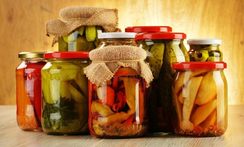pickles and other pickled vegetables