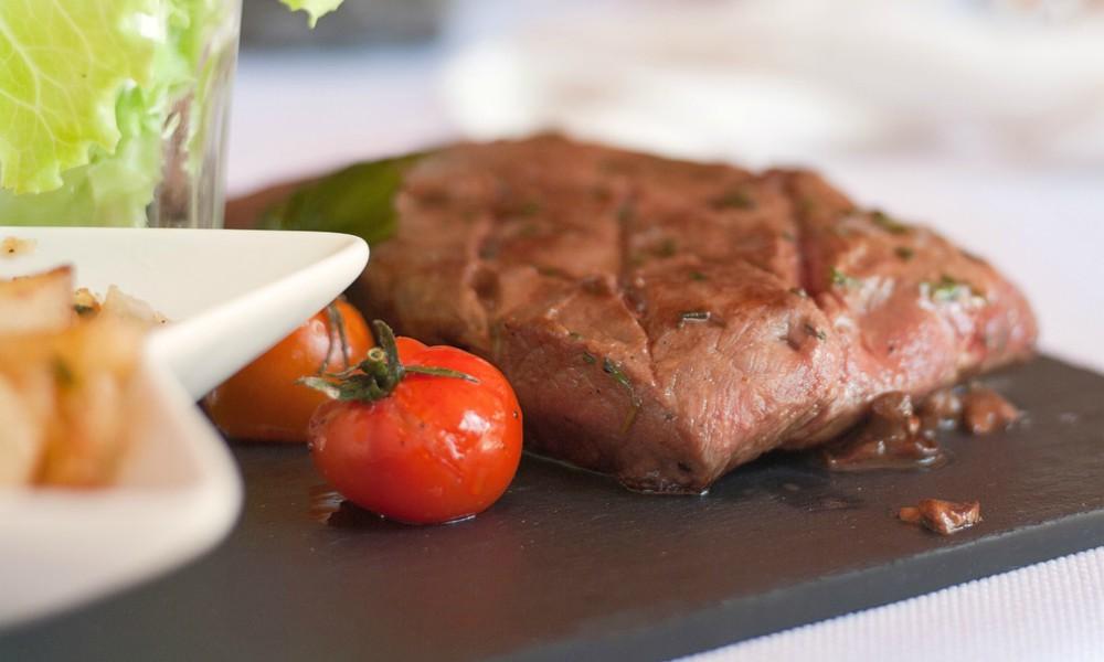 Beef Steak on table